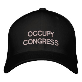 Occupez le modèle de casquette du congrès casquettes de baseball brodées