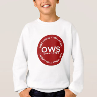 Occupy Wall Street-Anhänger Sweatshirt