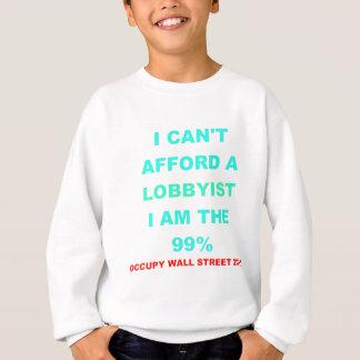 Occupy Wall Street I kann sich einen Lobbyisten Sweatshirt