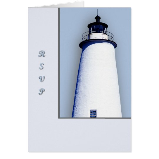 Ocracoke Leuchtturm Karte