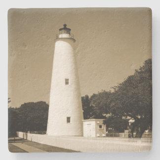 Ocracoke Leuchtturm Steinuntersetzer