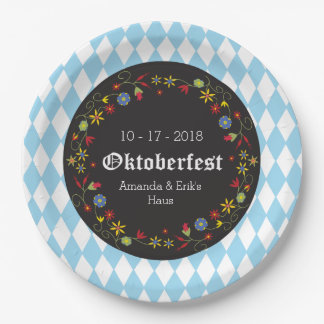 Octoberfest, Oktoberfest Party-Teller - fertigen Pappteller