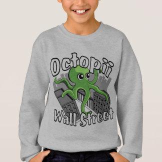 Octopii Wall Street - besetzen Sie Wall Street! Sweatshirt