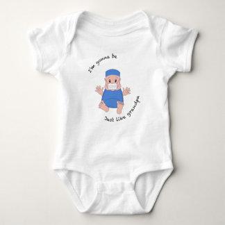 ODER Großvater Baby Strampler