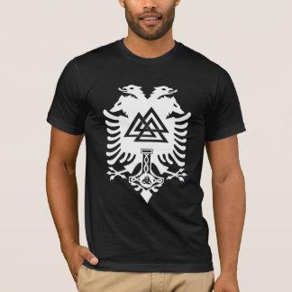 Odin Wappen-Dunkelheits-Shirt T-Shirt
