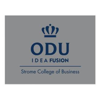 ODU Staplungslogo - Blau Postkarte