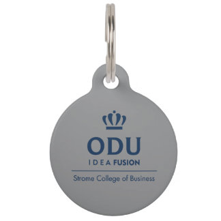 ODU Staplungslogo - Blau Tiermarke