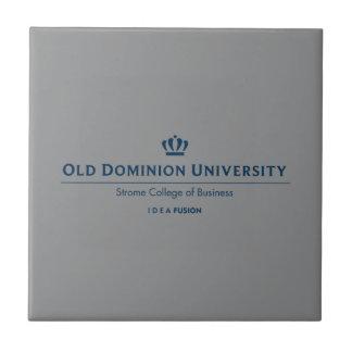 ODU Strome Uni des Geschäfts - Blau Fliese