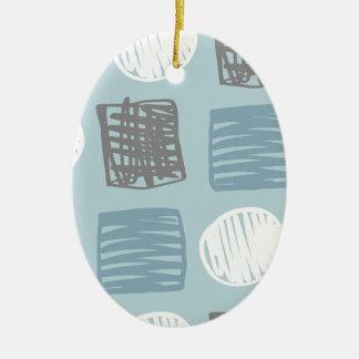 Odysseus Pesty Ovales Keramik Ornament