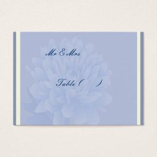 Oeillets bleus cartes de visite