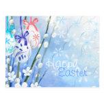 Oeufs de pâques floraux - customisés cartes postales