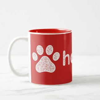 Offenbar Hooman Hundegespräch Zweifarbige Tasse