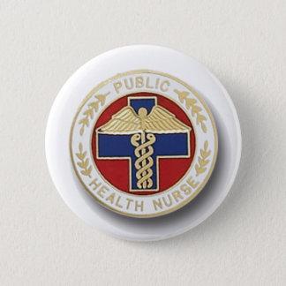 Öffentliches Gesundheitswesen-Krankenschwester Runder Button 5,7 Cm