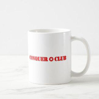 Offiziell erobern Sie Verein Kaffeetasse