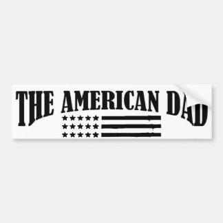 Offizielle Jobs des amerikanischen Vatis Autoaufkleber
