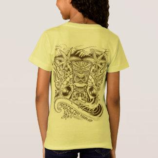 Offizielle Karte 2017 des exotischen Tiki T-Shirt