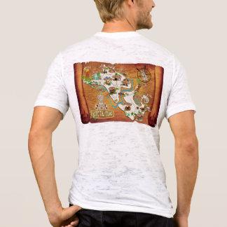 Offizielle Karte 2017 des T-Stücks der exotischen T-Shirt