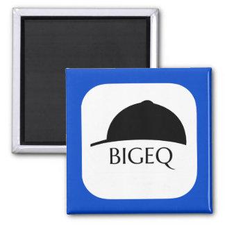 Offizieller BIGEQ quadratischer Magnet