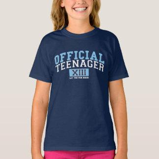 OFFIZIELLER JUGENDLICHER XIII ließ den Spaß T-Shirt