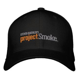 Offizieller Projekt-Rauch-Baseball-Hut Bestickte Baseballkappe