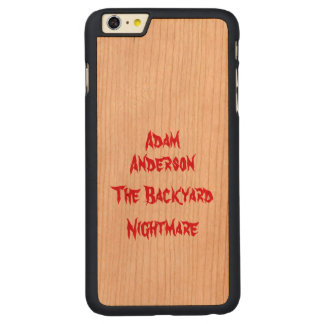 Offizieller Telefon-Kasten Adams Anderson Carved® Cherry iPhone 6 Plus Hülle