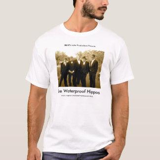 Offizieller wasserdichter Flusspferd-T - Shirt