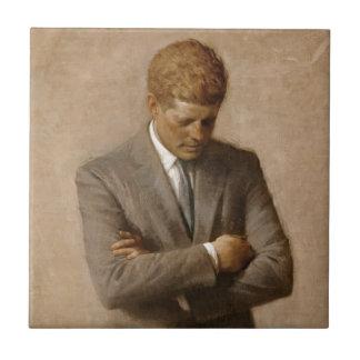 Offizielles das Haus-Porträt John F. Kennedy Keramikfliese