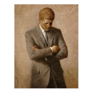 Offizielles das Haus-Porträt John F. Kennedy Postkarte