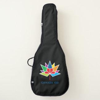 Offizielles Logo Kanadas 150 - Mehrfarben Gitarrentasche