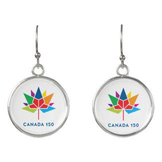 Offizielles Logo Kanadas 150 - Mehrfarben Ohrringe