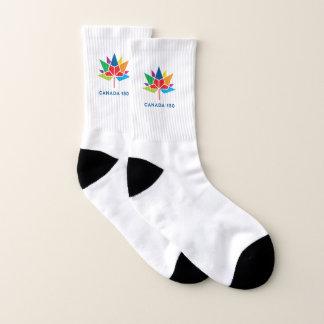 Offizielles Logo Kanadas 150 - Mehrfarben Socken