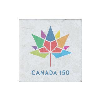 Offizielles Logo Kanadas 150 - Mehrfarben Steinmagnet
