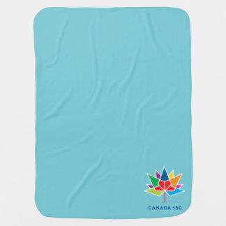 Offizielles Logo Kanadas 150 - Mehrfarben- und Babydecke