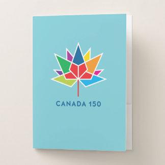 Offizielles Logo Kanadas 150 - Mehrfarben- und Bewerbungsmappe