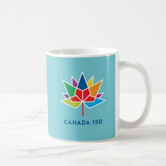 Offizielles Logo Kanadas 150 - Mehrfarben- und Kaffeetasse