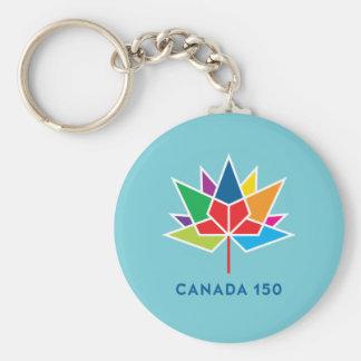 Offizielles Logo Kanadas 150 - Mehrfarben- und Schlüsselanhänger