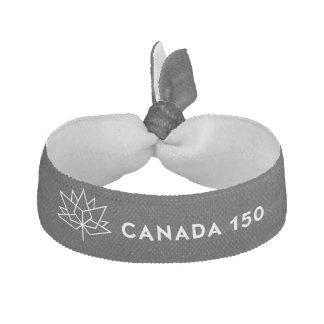Offizielles Logo Kanadas 150 - Schwarzweiss Haargummi