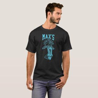 Offizielles maximales aller Stern-schwarze T - T-Shirt