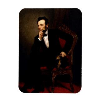 Offizielles Porträt Abraham Lincoln Magnet