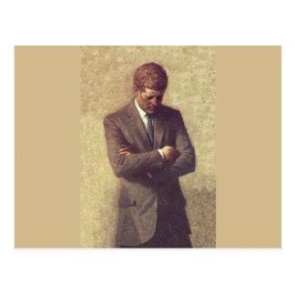 Offizielles Porträt John F. Kennedy Postkarte