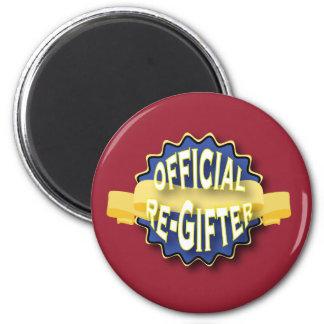 Offizielles Re-Gifter Runder Magnet 5,7 Cm