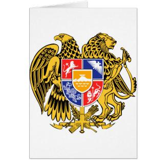 Offizielles Wappen Armeniens Wappenkunde-Symbol Karte