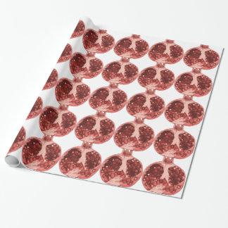 Öffnen Sie den Granatapfel, der köstliche Samen Geschenkpapier