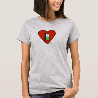 Öffnen Sie Herz-Shirt T-Shirt
