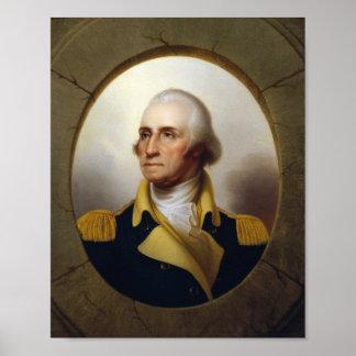 Öffnungs-Malerei General-George Washington Poster