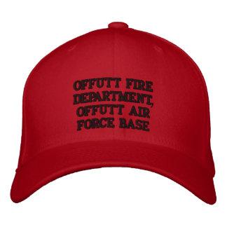 Offutt Feuerwehrmänner Bestickte Kappe