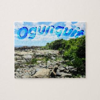 Ogunquit Küstenlinie