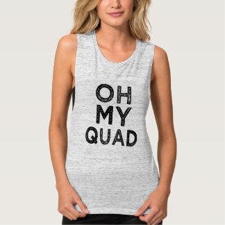 Oh Fitness-Sprichwort-Shirt meiner Frauen des Tank Top