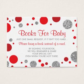 Oh holen Baby-Mädchen, eine Buch-Karte, Visitenkarte