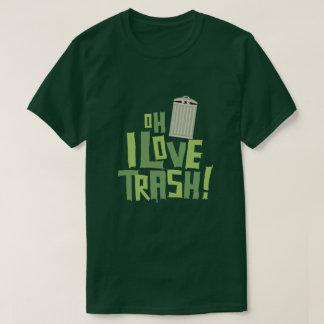Oh i-Liebe-Abfall-Retro Pop-Kultur-Grafik T-Shirt